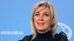 Захарова рассказала обизменении тона Украины впереговорах
