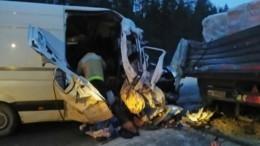 Три человека погибли вДТП с«КАМАЗом» вАрхангельской области