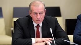 Путин принял отставку губернатора Иркутской области