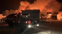 Пожар наскладе вБашкортостане локализован наплощади 1500 квадратов