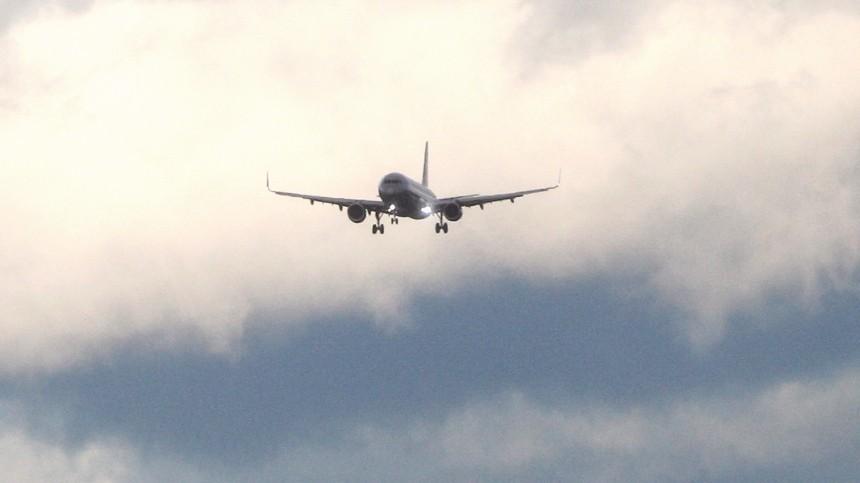 Стала известна причина экстренной посадки самолета в«Шереметьево»