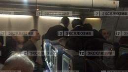 Видео спасения пассажира вэкстренно приземлившемся в«Шереметьево» самолете