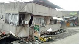 При землетрясении наФилиппинах погибли три человека