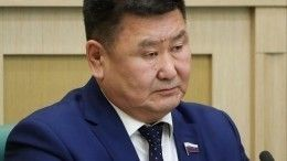 Заявление оботставке отсенатора отИркутской области Мархаева непоступало