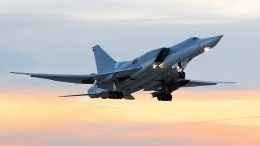 Минобороны РФ: Летчики Ту-22, укоторого отказал двигатель, смогли посадить самолет