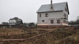 Вкоттедже вХимози, где Бовт держал арсенал оружия, проходит эвакуация коз
