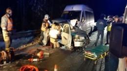 Один человек погиб и13 пострадали вДТП савтобусом вКарелии