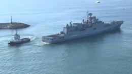 Впорту Тартус прошли учения российских исирийских военных моряков