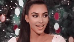 Видео: Ким Кардашьян вобразе Элизабет Тейлор снялась для глянца
