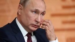 Путин назвал «абсолютно неприемлемым» приравнивание СССР кгитлеровской Германии