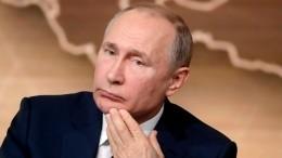 Путин пообещал разобраться вситуации сБоткинской больницей вПетербурге