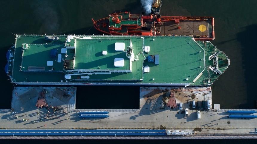 Первая вмире плавучая АЭС заработала наЧукотке