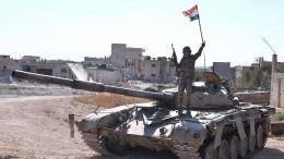 Сирийские военные отразили две мощные атаки террористов вИдлибе