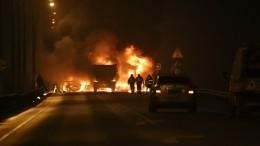 Два человека погибли иодин пострадал вогненном ДТП под Выборгом