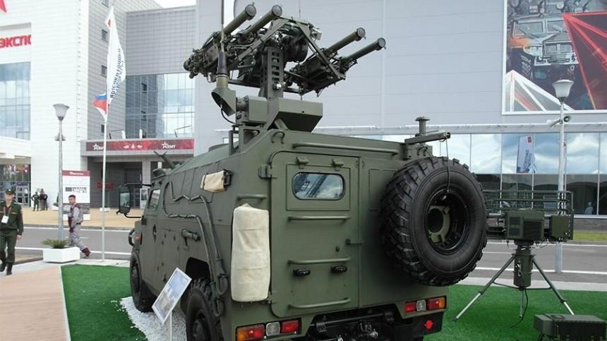 ВРоссии прошли испытания новейшего комплекса ПВО «Гибка-С»