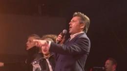 Звезда Modern Talking после шоу вПетербурге порассуждал оботношении кпрошлому