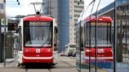 Пять минут ужаса пережили пассажиры трамвая вБонне