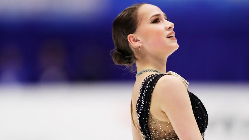 «Впервые поднимается натакую высоту»: Навка показала тренировку Загитовой