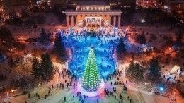 «Искусство должно возбуждать»: ВНовосибирске залили каток ввиде фаллического символа