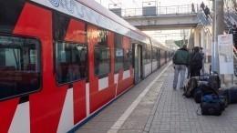 Первый поезд вКрым выехал изСанкт-Петербурга