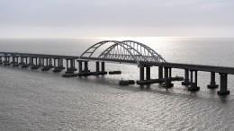 Путин открыл железную дорогу наКрымском мосту— видео