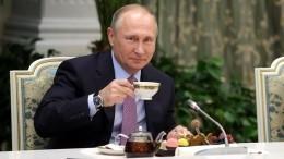 Путин признался, что отказался отчая ради другого напитка