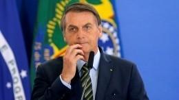 Президент Бразилии попал вбольницу после падения всобственной резиденции