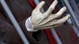 Фото: Москвич зверски убил сестру ивыбросил еетело напомойку