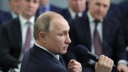 Путин: армия способна защитить Россию внепростых международных условиях
