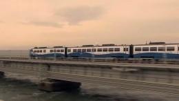Начальник первого отправившегося изПетербурга вКрым поезда рассказал, как догонял состав