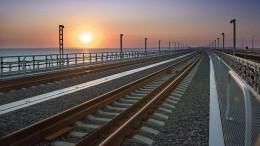 ИзМосквы вКрым отправился первый поезд