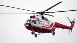 Командир Ми-8, совершившего аварийную посадку под Красноярском, госпитализирован