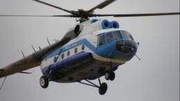 Стала известна причина аварийной посадки вертолета Ми-8 под Красноярском