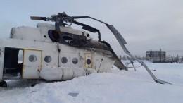 Число пострадавших при аварийной посадке Ми-8 возросло до12 человек