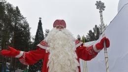 Самую большую открытку для Деда Мороза отправили изПетербурга вВеликий Устюг