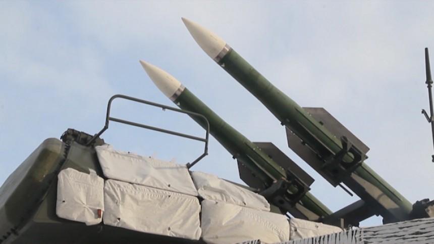 Военные ЦВО впервые показали боевую работу зенитной бригады
