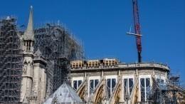 Настоятель Нотр-Дам-де-Пари предупредил овозможном обрушении собора