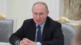 Россияне назвали Владимира Путина политиком года