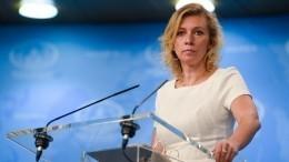 Захарова одавлении нажурналистов Sputnik вТаллине: «Настоящая травля»