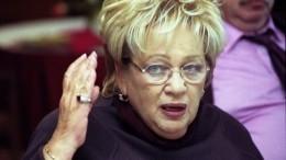 «Человек она была великий»: Наталья Смирнова ошеломлена уходом Галины Волчек
