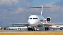 Приостановлены полеты самолетов Fokker-100 того типа, что рухнул вАлма-Ате