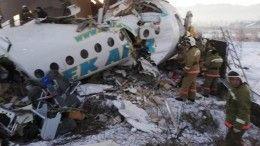 Траур объявлен вКазахстане 28декабря всвязи савиакатастрофой вАлма-Ате