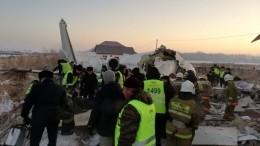 Переговоры пилотов, упавшего вКазахстане самолета, сдиспетчером