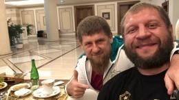 Ринг-анонсер обозначил сильные стороны Кадырова иЕмельяненко вбоксе