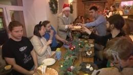 Петербуржцы сограниченными возможностями отпраздновали Новый год вкругу друзей