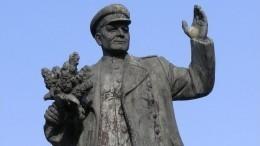 Посольство России вЧехии осудило осквернение памятника маршалу Коневу вПраге