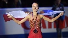 Анна Щербакова вновь стала чемпионкой РФпофигурному катанию вКрасноярске