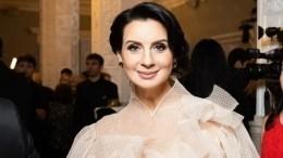 Гигантский торт иморе свечей: Стриженова показала видео сдня рождения дочери