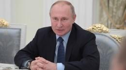 Путин подписал закон обинформировании россиян оположенных имльготах