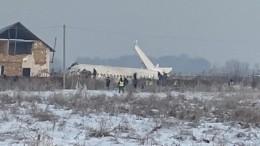 Аэропорт Алма-Аты обнародовал поминутную хронологию крушения самолета Bek Air